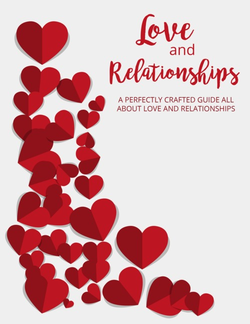 Product picture ebook on love and dating